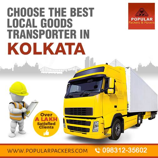 Packers And Movers In Kolkata With Good Transportation