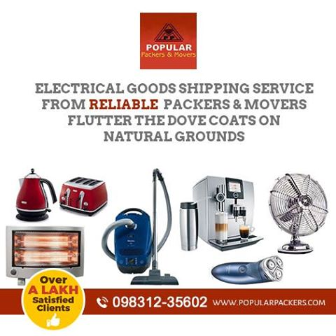 ELECTRICAL GOODS PACKERS AND MOVERS