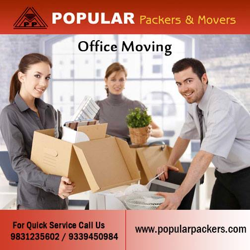 Office Shifting Packers and Movers Kolkata