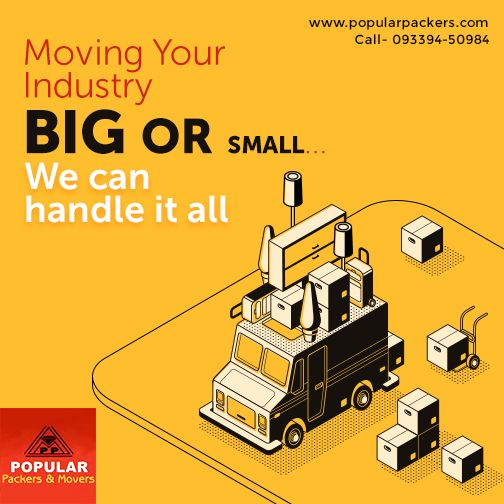 Reliable Industrial Materials Packers And Movers Service In Kolkata